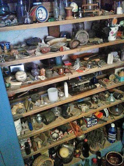 Sue Player has pretty organized shelves!