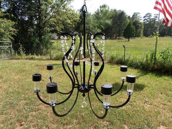 Mary Meier's classy chandelier