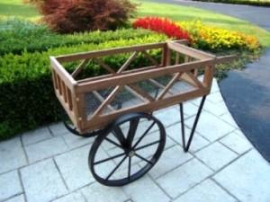 Oakland Living Flower Garden Wagon