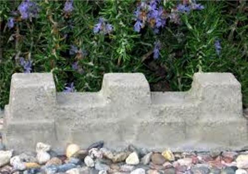 A child's beach sand mold