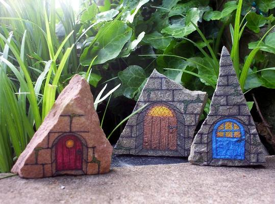 """Eugenia LaBar says, """"And don't forget the Fairy Doors!"""""""