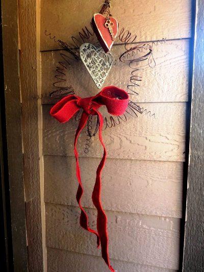 Sue Langley's Spring wreath