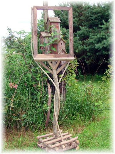 Jeanne Sammons found this 'art' easel at a craft show and had to have it.
