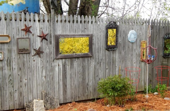 Marge Yetzke created what she calls her secret garden of personal treasures