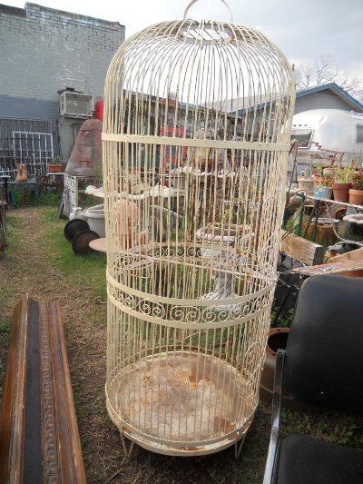 Yeya's Antiques & Oddities Couldn't you just see this with a clematis vine twining up