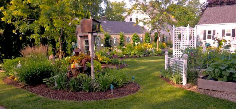 Ann says the garden is ready!
