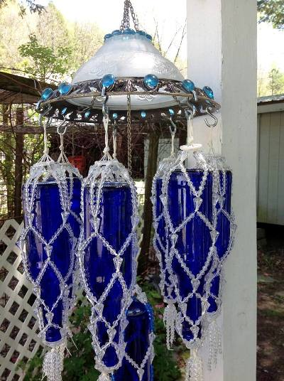 Whimsical Garden Wind Chimes You Can Make Flea Market
