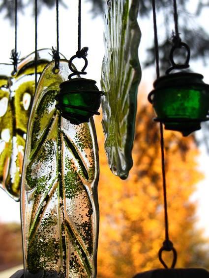 Karen Witek, art in the garden
