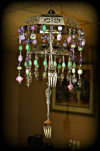 Lisa Collier's finished windchime