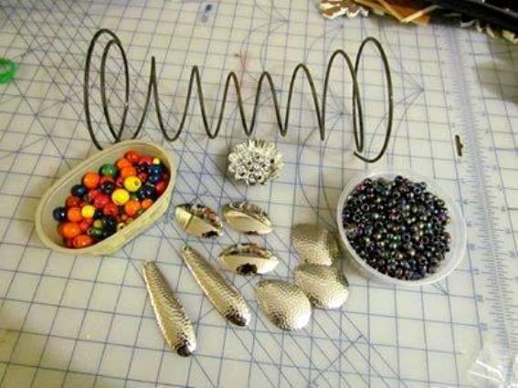 Nancy Carter's art supplies