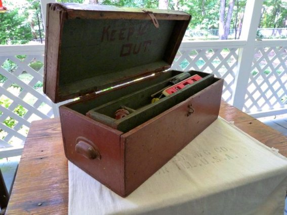 Not just for planting, Kathy Hardin's toolbox