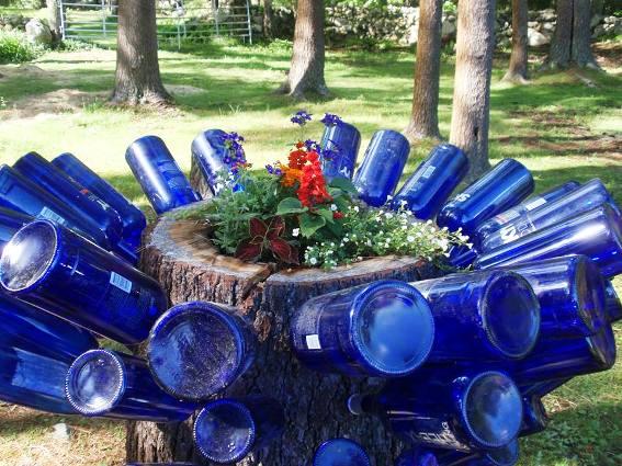 Cherrie Carine's glorious glass flower