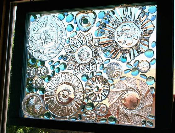 Winsome Window Mosaics For The Garden Flea Market Gardening