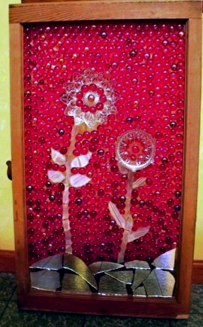 Sue Gerdes rosy red window