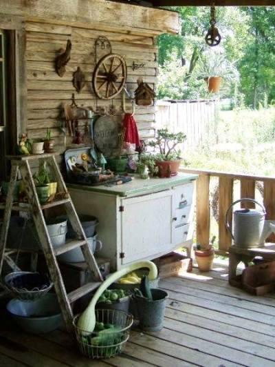 Sue Jordan's dresser fits in among all her treasures