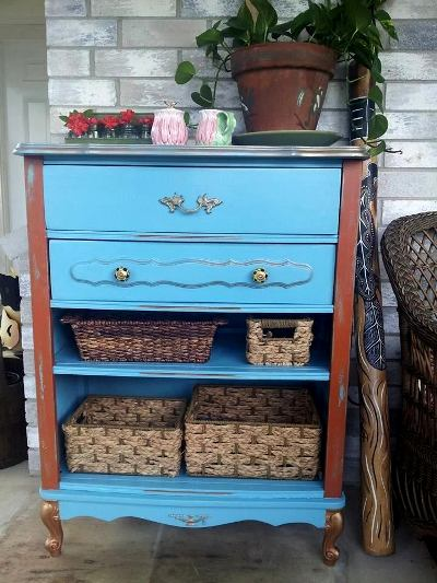 Valerie Blackwell's finished dresser