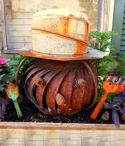 Ammie Peters pumpkin planter