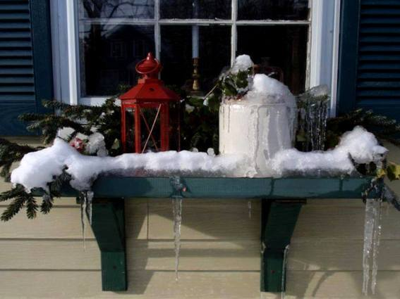 A Winter windowsill