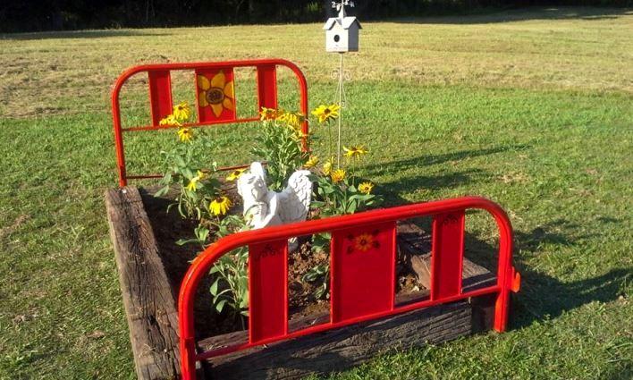Billie's flower bed