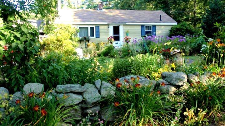 Cherrie's home and front garden
