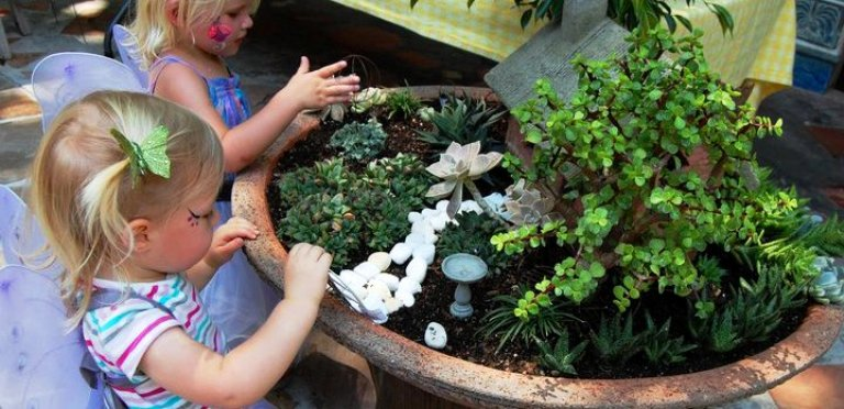Easy fairy gardens-featured