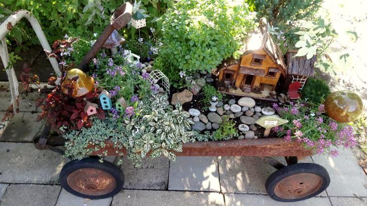 Flea Market Gardening DIY Fairy Gardens Directory