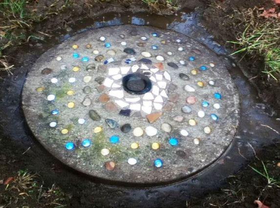 Cherrie Carine's barrel ring stepping stone