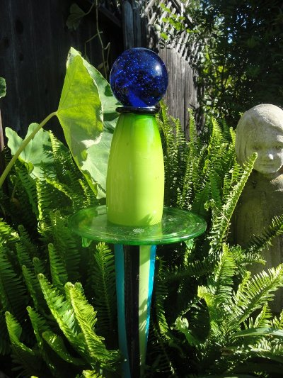 Diana Duggan's combo of opaque and translucent glass