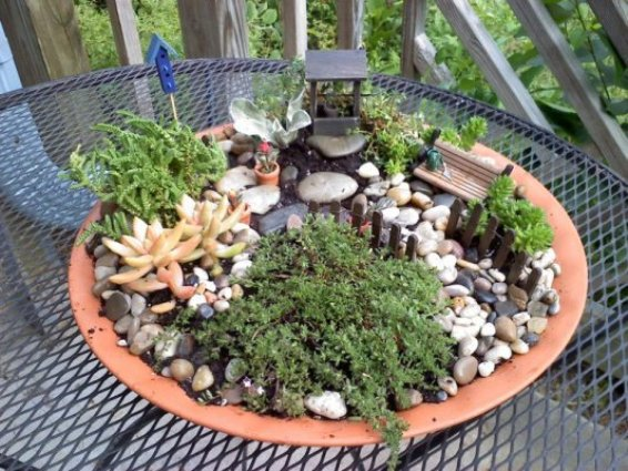Make Your Own Fairy Garden Fence Flea Market Gardening