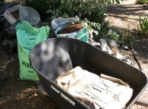 Perlite, Peat moss and Portland cement
