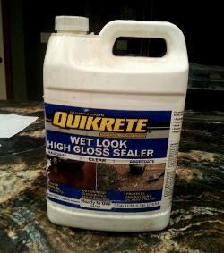 Quikcrete sealer