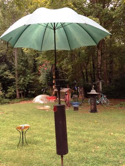 Weatherproof Bird Feeders With A Flea Market Twist Flea