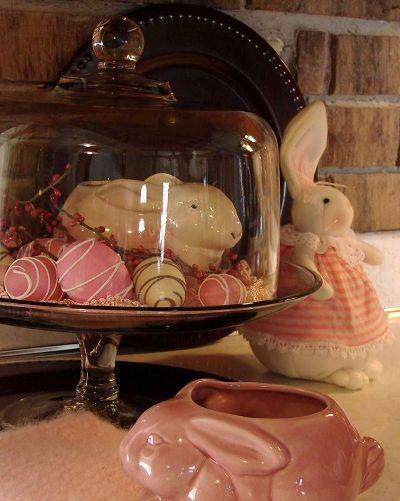 Jeanne Sammons Bunny cloche