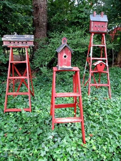Barb's ladders from 'Our Fairfield Home & Garden'