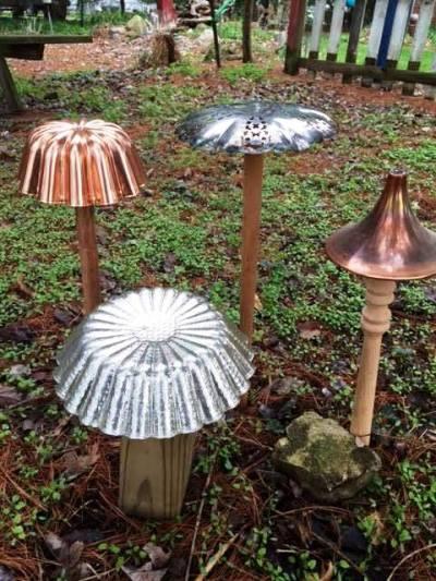 Fun Garden Mushrooms To Make Flea Market Gardening