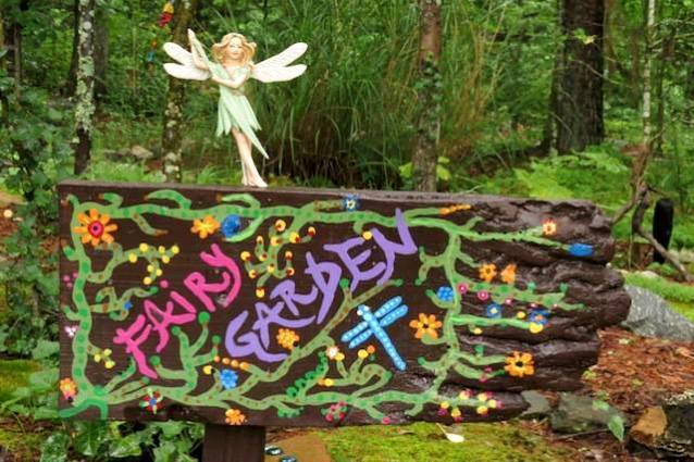 Anita's fairy garden sign