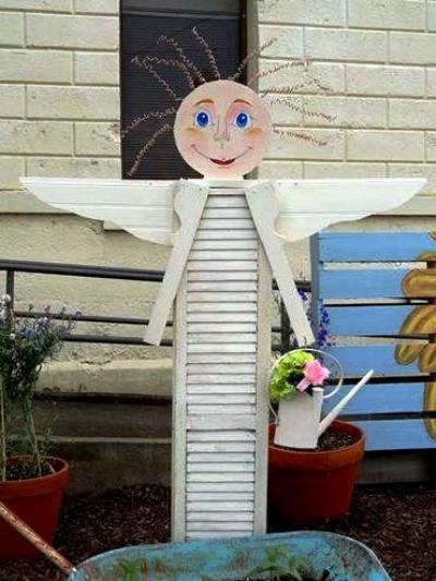 Jeanne S Shutter Angel Flea Market Gardening