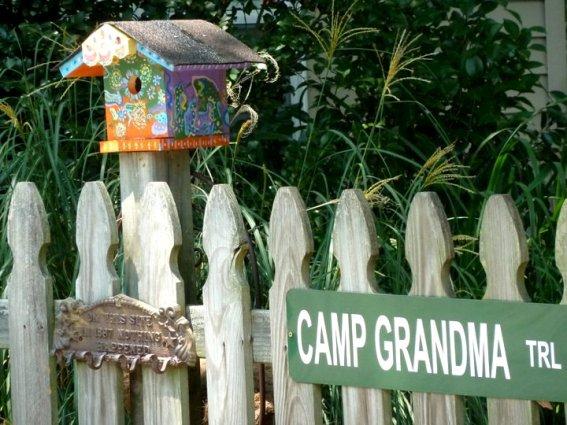 Lynn Paterson holds Camp Grandma each summer