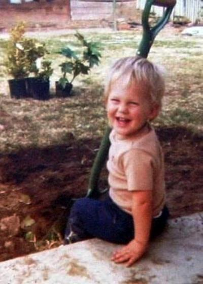 No matter how young, kids like dirt