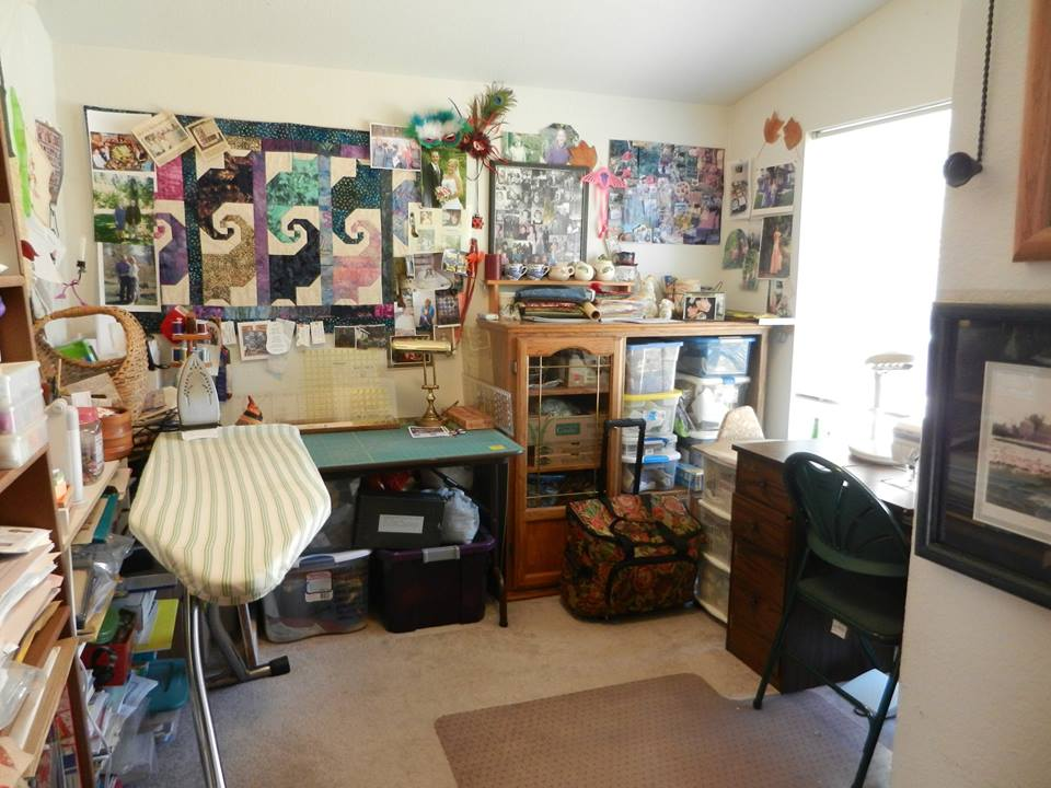Margie Yongue took up our Double Dog Dare You challenge to clean up her craft work bench and storage area. She says she spent one to two hours each day to clean it up and now can actually find what she need to plant her garden seeds.