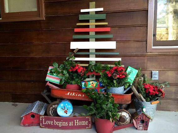 Home Design Ideas Decorating Gardening: Flea Market Christmas Gardens