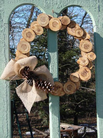 Jeanne's nature inspired wreath