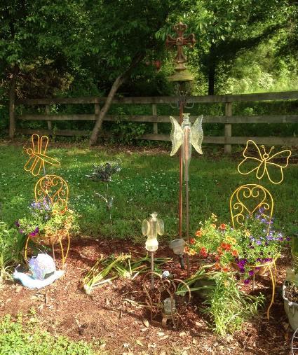 Jimmye Lynn Dye-Porter made her butterflies stand out