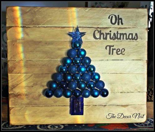 Linda Gladman's blue 'ornamental' tree
