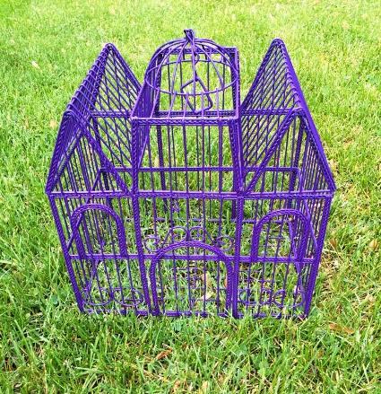 Myra Glandon's birdcage gets glammed up