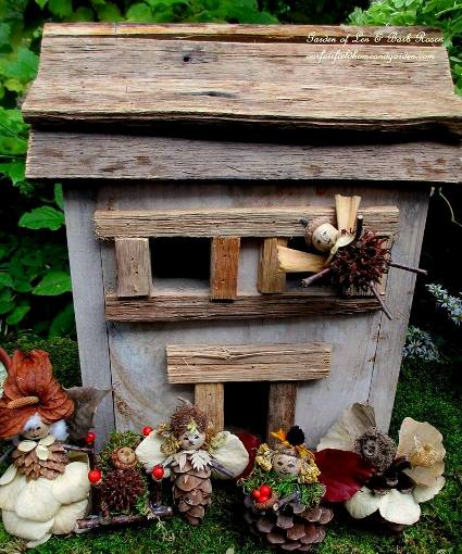 Our Fairfield Home & Garden's best wooden fairy house