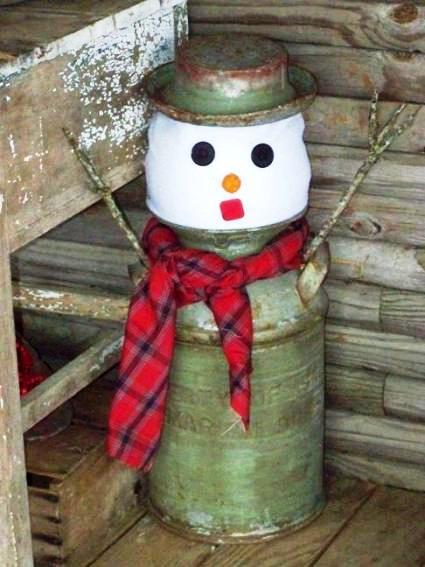 Sue Jordan's simple-to-make snowman