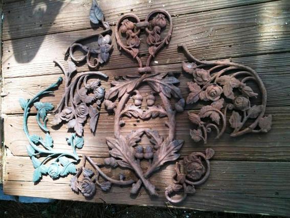 Cindy Barton's rusty filagree