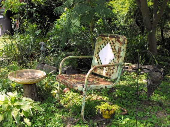Kay Bassett's ruined chair Not!