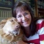 Kathie Schram and friend